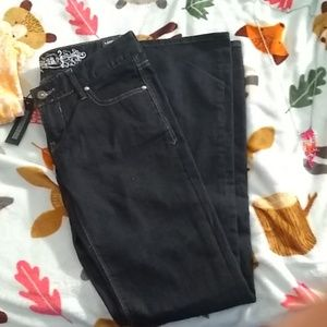 NWT EXPRESS BOOT CUT LOW RISE JEANS - 0